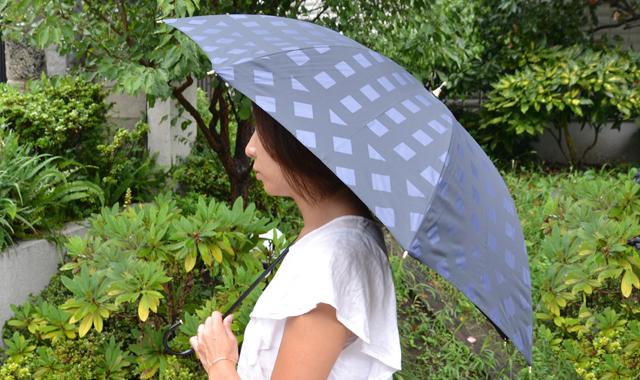 BKチェック傘