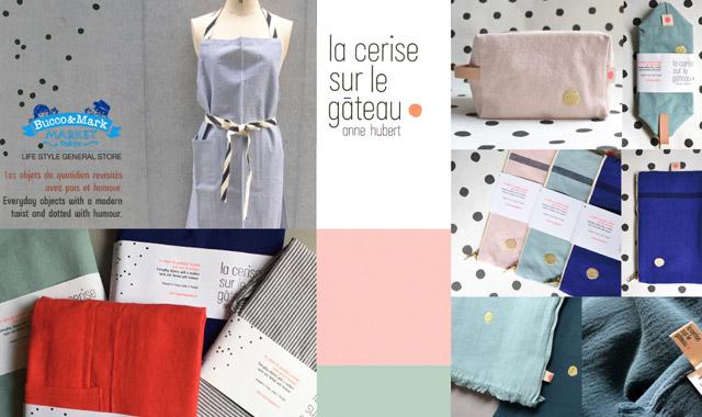 ファブリック小物はフランスブランド『La cerise sur le Gateau』にお任せ♡